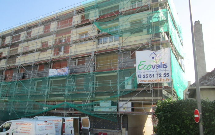 Ecovalis chantier collectif de 20 logements