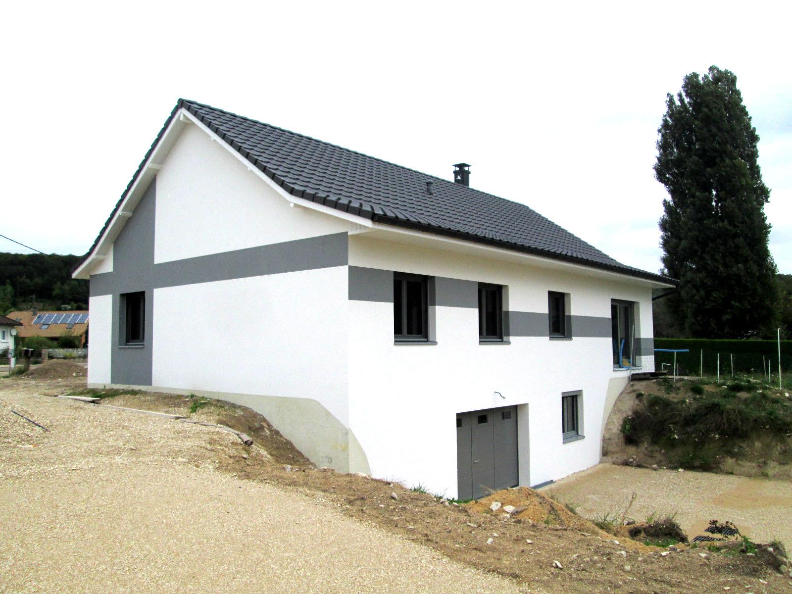 Enduit sur polystyr ne maison neuve ecovalis for Amelioration isolation maison